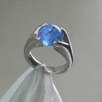 Asring Glasbol blauw 12 mm