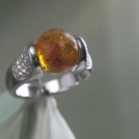 Asring Glasbol oranje 12 mm