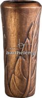 Bloemvaas brons, art.nr. 070.12.C.00_v Barthelemy