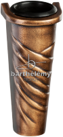 Bloemvaas Brons, art.nr. 213.10.C.88_v Barthelemy