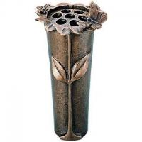 Bloemvaas brons - art.nr. 53049 MIT Strassacker