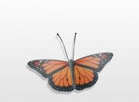 Decoratieobject RVS - art.nr. 159406 vlinder