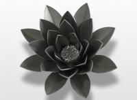 Decoratieobject RVS - art.nr. 489449 bloem