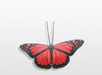 Decoratieobject - art.nr. 533407 vlinder