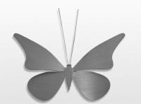 Decoratieobject RVS - art.nr. 819237 vlinder