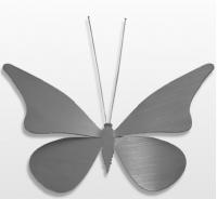 Decoratieobject RVS - art.nr. 617 vlinder