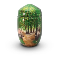 Urnen glasfiber - art.nr. GFU 213