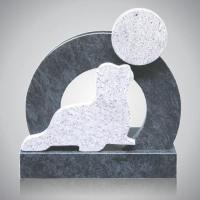 Kindermonument - art.nr. 8453 Orion Wiskont wit beiden zijden gepolijst