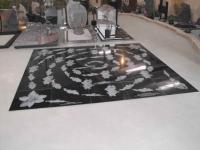 Lasergravure - art.nr. 5542 3 x 3 meter tegels 60cm x 60cm
