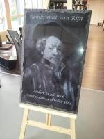 Lasergravure - art.nr.  5548 Rembrandt van Rijn