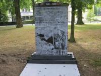 Lasergravure - art.nr. 5541 Papua monument Bronbeek
