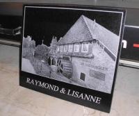 Lasergravure - art.nr. 5579 Watermolen Velp 40cm x 35cm