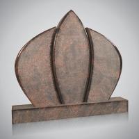 Model lettersteen - art.nr. 7159 Aurindi geslepen en geborstelde kanten, ronde bovenkant en gepolijst