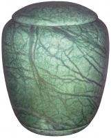Urnen natuursteen - albast - art.nr. UA 7 groen