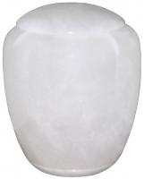 Urnen natuursteen - albast - art.nr. UA 7 wit