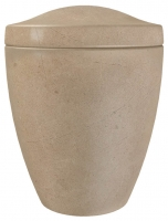 Urnen natuursteen - marmer - art.nr. UM 9 Beige