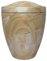Urnen natuursteen - marmer - art.nr. UM 9 Jaune Arena