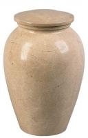 Urnen natuursteen - marmer - art.nr. UM 3 beige