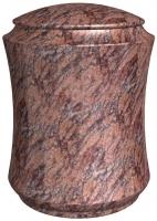Urnen natuursteen - graniet - art.nr. UR 17 Rose Dalva