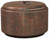 Urnen natuursteen - graniet - art.nr. UR 19 CAC