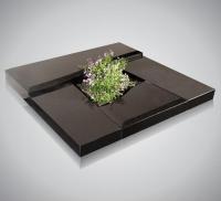 Urnmonumenten - art.nr. 4017 - zwart