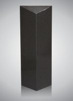 Zuil - art.nr. 7090S zwart alle zijden gepolijst