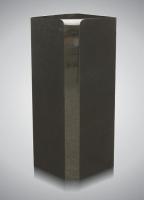 Zuil - art.nr. 7104S zwart alle zijden gepolijst